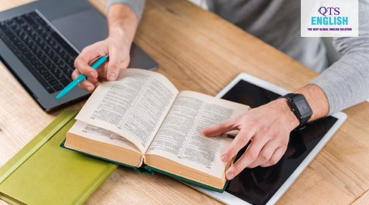 Thủ thuật học tiếng Anh hiệu quả với từ điển