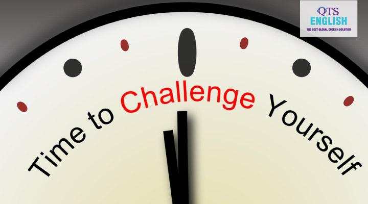 Đặt ra một thử thách bạn có thể làm được nhưng không quá dễ cũng là một cách học từ vựng hiệu quả.