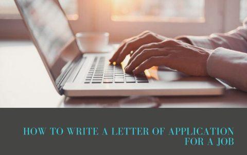 cách viết thư xin việc bằng tiếng Anh